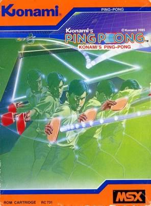 KonamiPingPongMSX