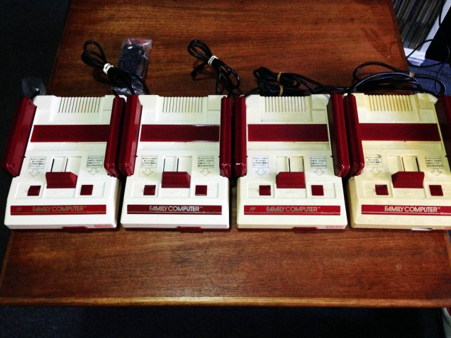Famicom Yellowing