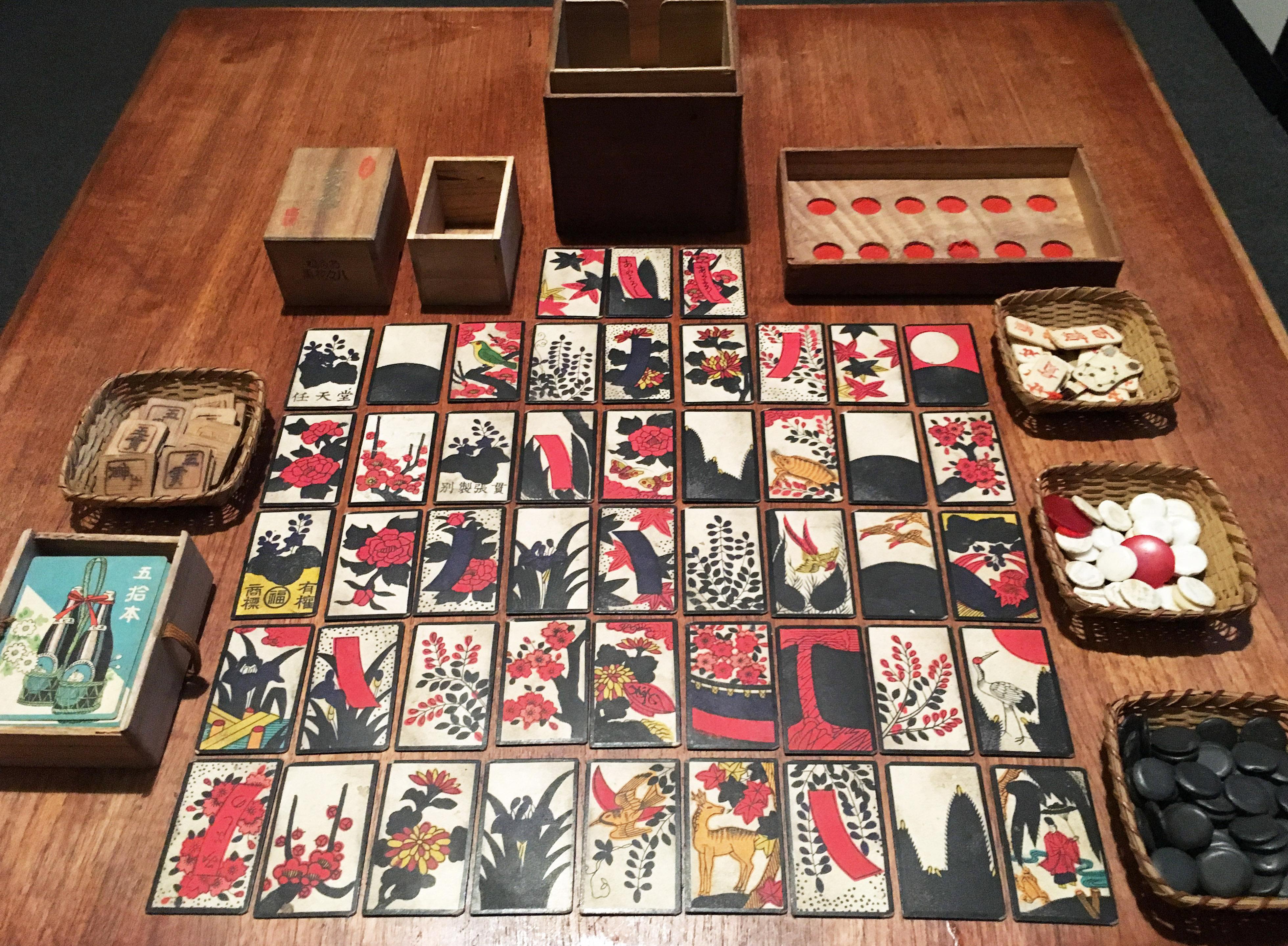 Pre-WW2 Nintendo Hanafuda (花札) – cards and gambling kit – Nintendo Sega  Japan!